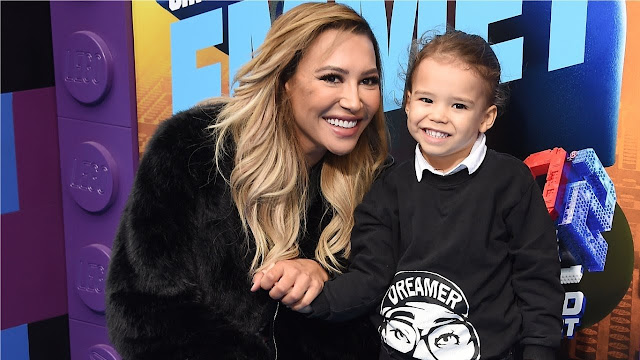 Naya Rivera e seu filho
