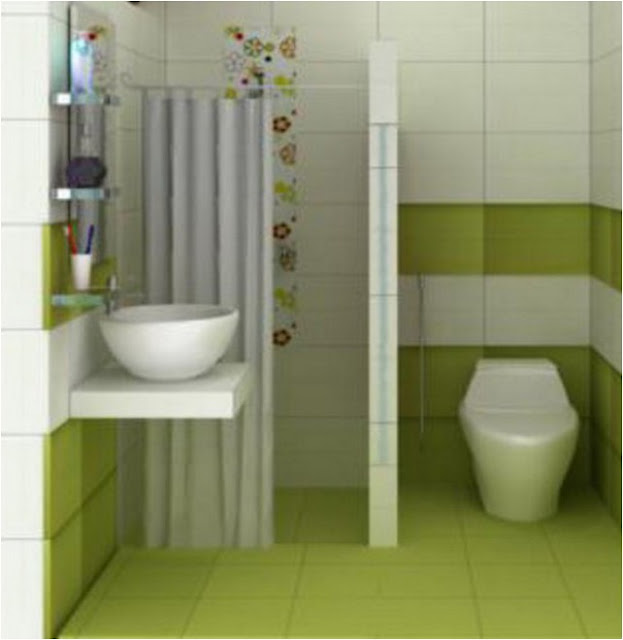 Desain Kamar mandi minimalis sederhana