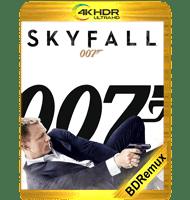 007: OPERACIÓN SKYFALL (2012) BDREMUX 2160P HDR MKV ESPAÑOL LATINO