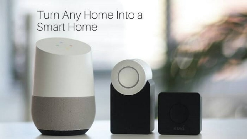 Smart Home with Helpful Gadgets