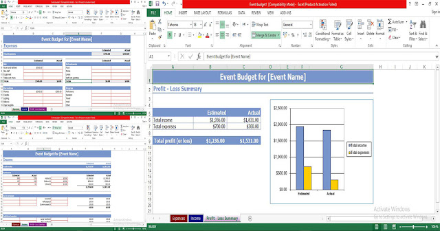 Event Budget Template Excel - Free Download
