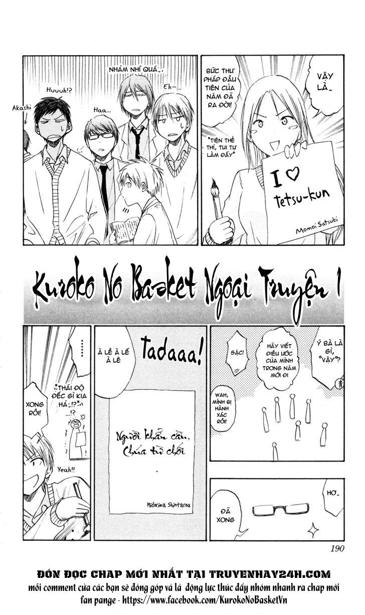 Kuroko No Basket bonus trang 2