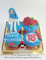 Cupcake Ulang Tahun Untuk Ibu / Anak Perempuan