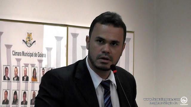 Politica: Ver. Bruno Salsa apresenta relatório contrário ao pedido de renovação da licença do prefeito Osvaldo Rabelo Filho