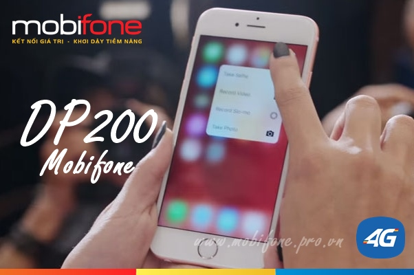 Đăng ký gói DP200 Mobifone
