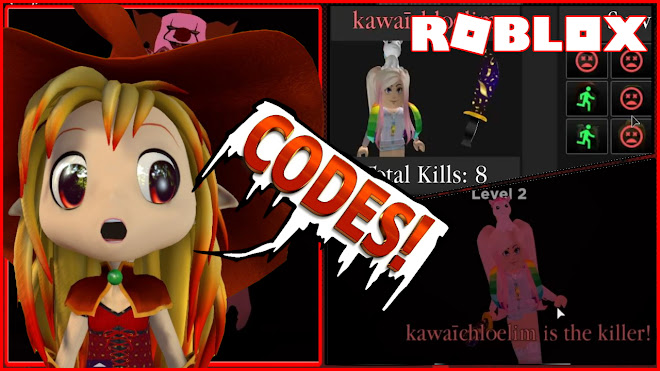 Roblox Survive the Killer Gameplay! 2 CODES! Beware of the UNICORN KILLER!