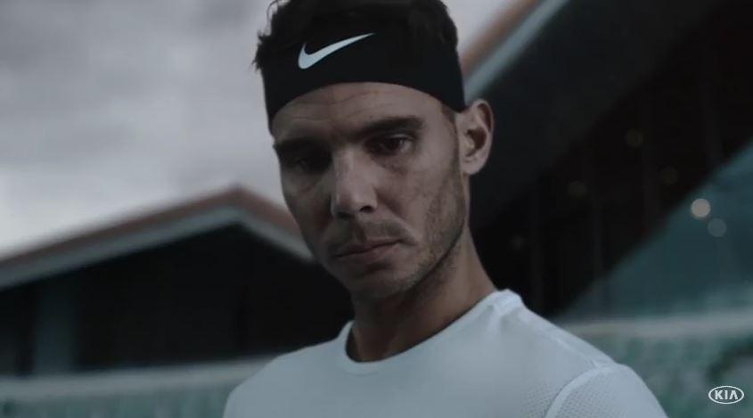 Modello Kia pubblicità Aspettando gli Australian Open con Foto - Testimonial Spot Pubblicitario Kia 2017