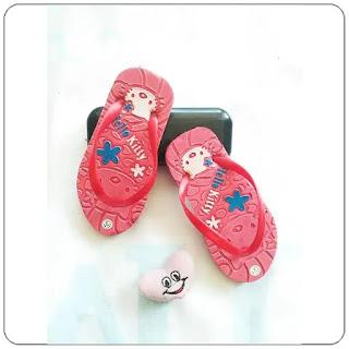Jepit Hellokity Press Baby sandal murah baby