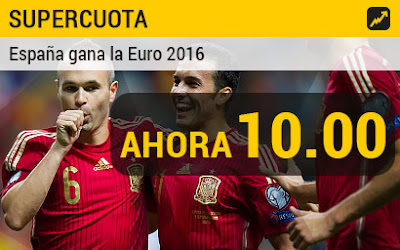 bwin cuota 10 España gana Eurocopa todos usuarios hasta 10 junio