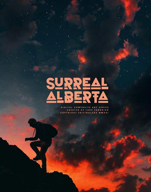 Surreal Alberta Digital Artwork Series