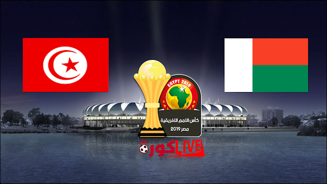 مباراة مدغشقر وتونس بتاريخ 11-07-2019 كأس الأمم الأفريقية
