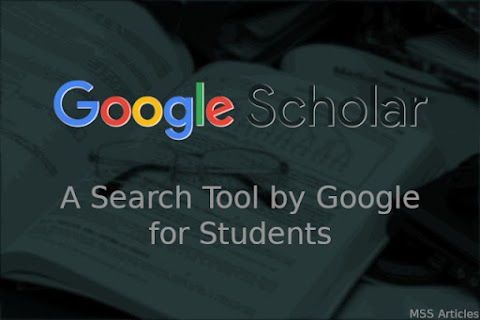 Google Scholar - A Search Tool by Google for Students / Researchers