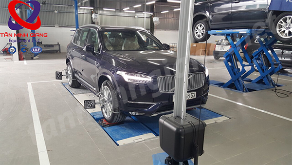 Thiết bị cân chỉnh góc lái 3D cho Garage ô tô
