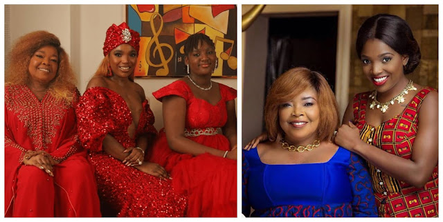 For every lie against you will bring forth blessing- Annie Idibia showers her mom with lovely words (Photos)