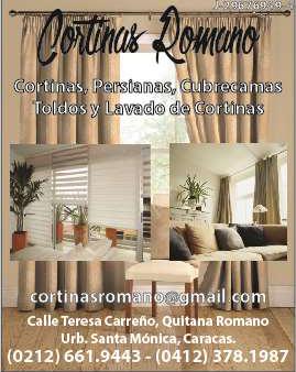 CORTINAS ROMANO C.A. en Paginas Amarillas tu guia Comercial