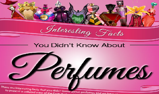 Interesting Facts You Didn't Know About Perfumes #infographic