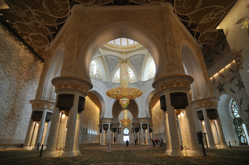 Exterior: Islamic Thems: Interior Of Sheikh Zayed Mosque