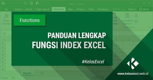 Fungsi Rumus Index Pada Microsoft Excel