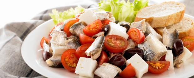 Interesting Nutrition Facts About Fish and Some Recipe Ideas ! Greek-sardine