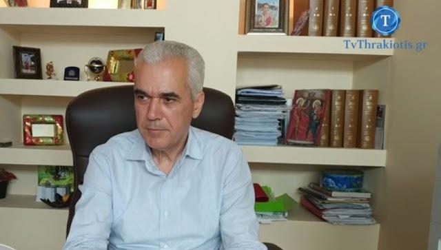 Π.Καλακίκος : Με τρία άτομα συντάξαμε μελέτες- οι άνθρωποι αυτοί εργάστηκαν  μέρα και  νύχτα και εξασφαλίστηκαν 5 εκατ. ευρώ