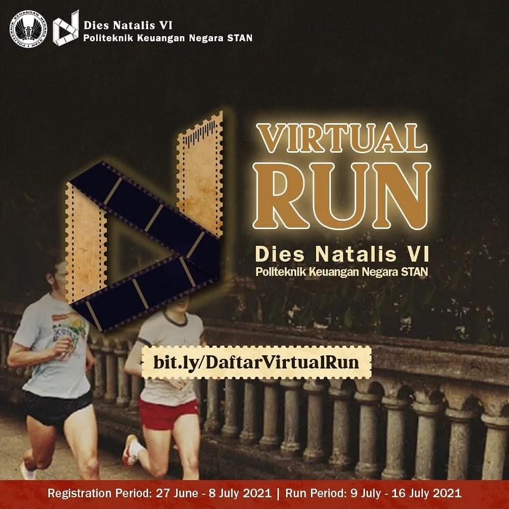 Virtual Run Dies Natalis 6 PKN STAN • 2021