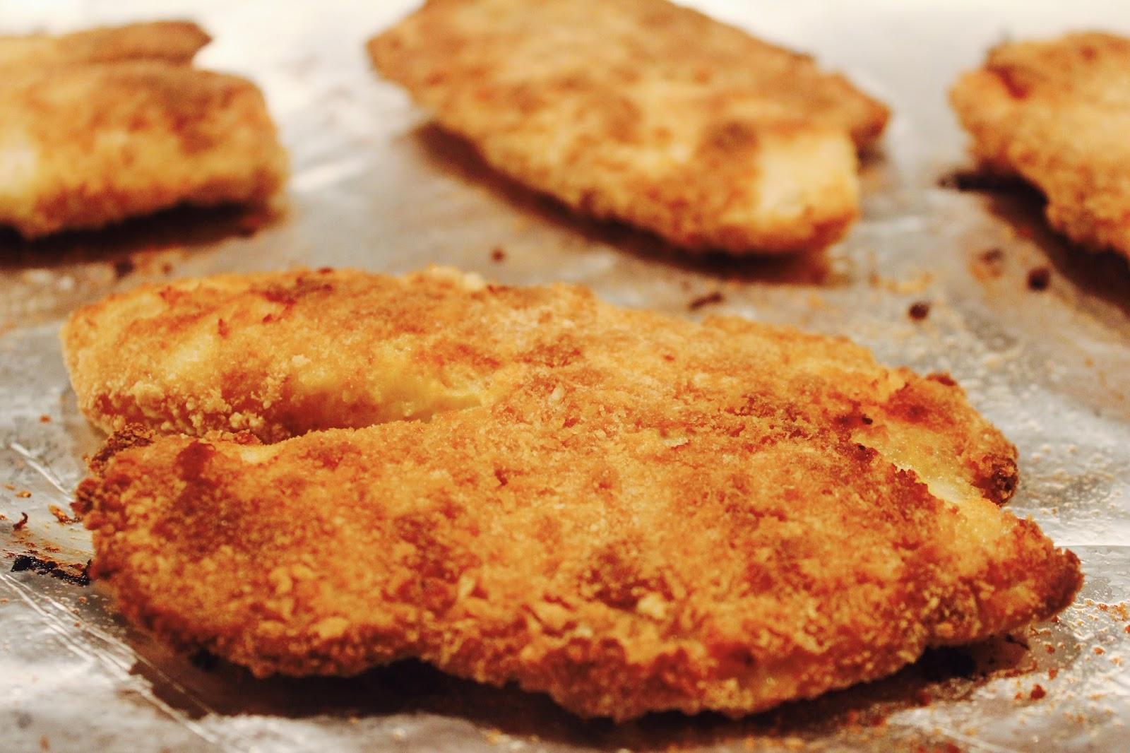 1 2 3 Je Cuisine Filets De Tilapia Panes Au Four