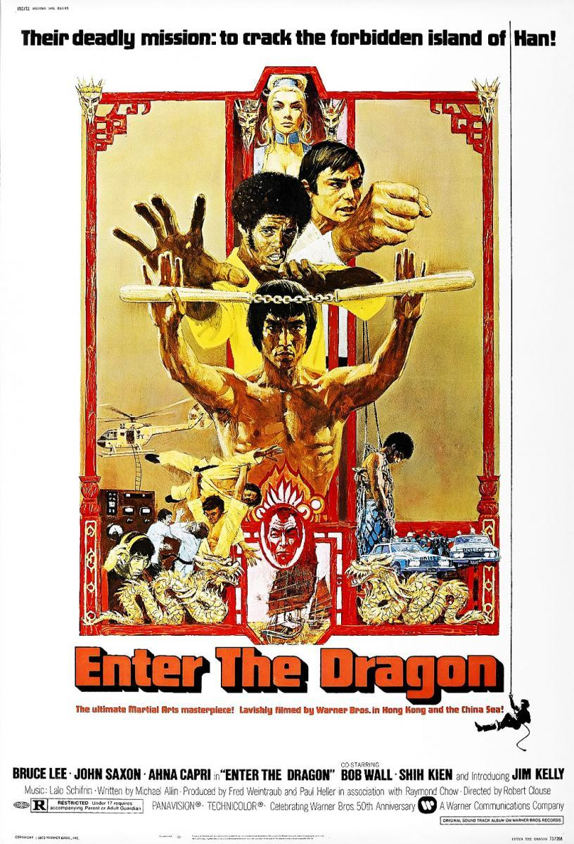 Download Enter the Dragon (1973) Full Movie in Hindi Dual Audio BluRay 720p [1GB]