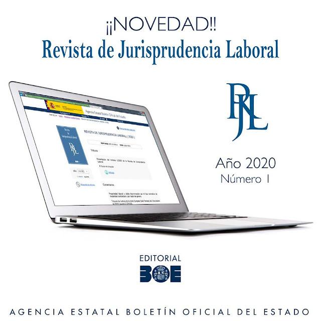 """Se publica, por segundo año, la """"Revista de Jurisprudencia Laboral (RJL)"""""""