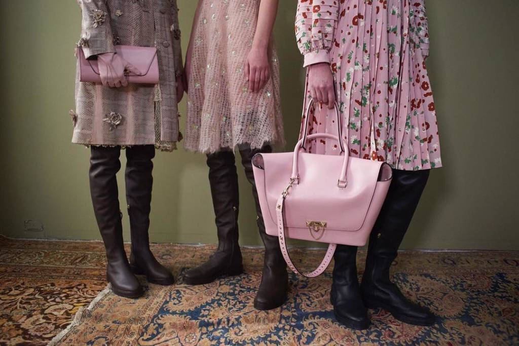 Valentino's Demilune Collection For FW17