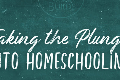 Taking the Plunge to Homeschool