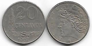 20 centavos, 1967