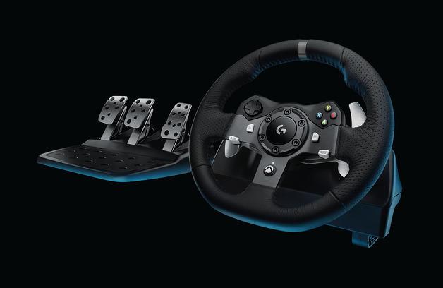 Sorteio de um Logitech G920 Driving Force com Volante e pedais