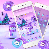 Snowman Winter Christmas Theme  Apk free Download for Android