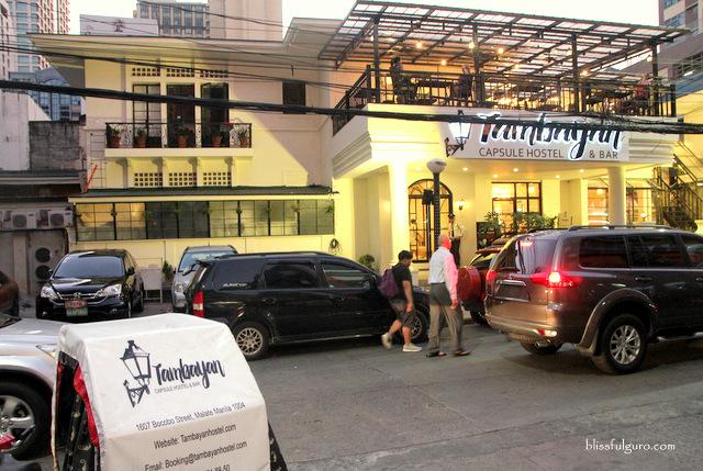 Tambayan Capsule Hostel Manila Blog