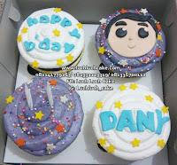 Cupcake Hias Fondant 2d Untuk Cowok