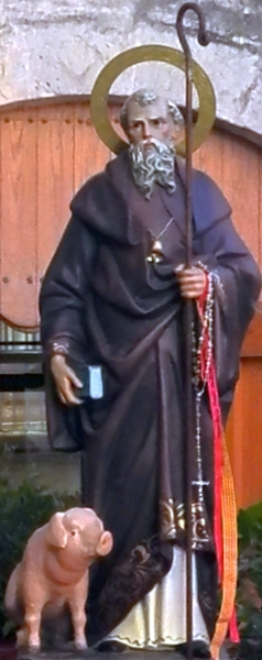 Santo Antonius Pertapa