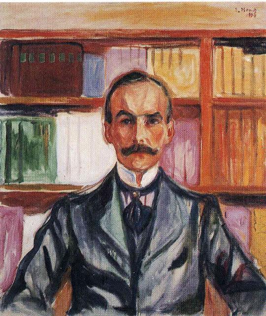 Эдвард Мунк - Граф Гарри Кеслер. 1904