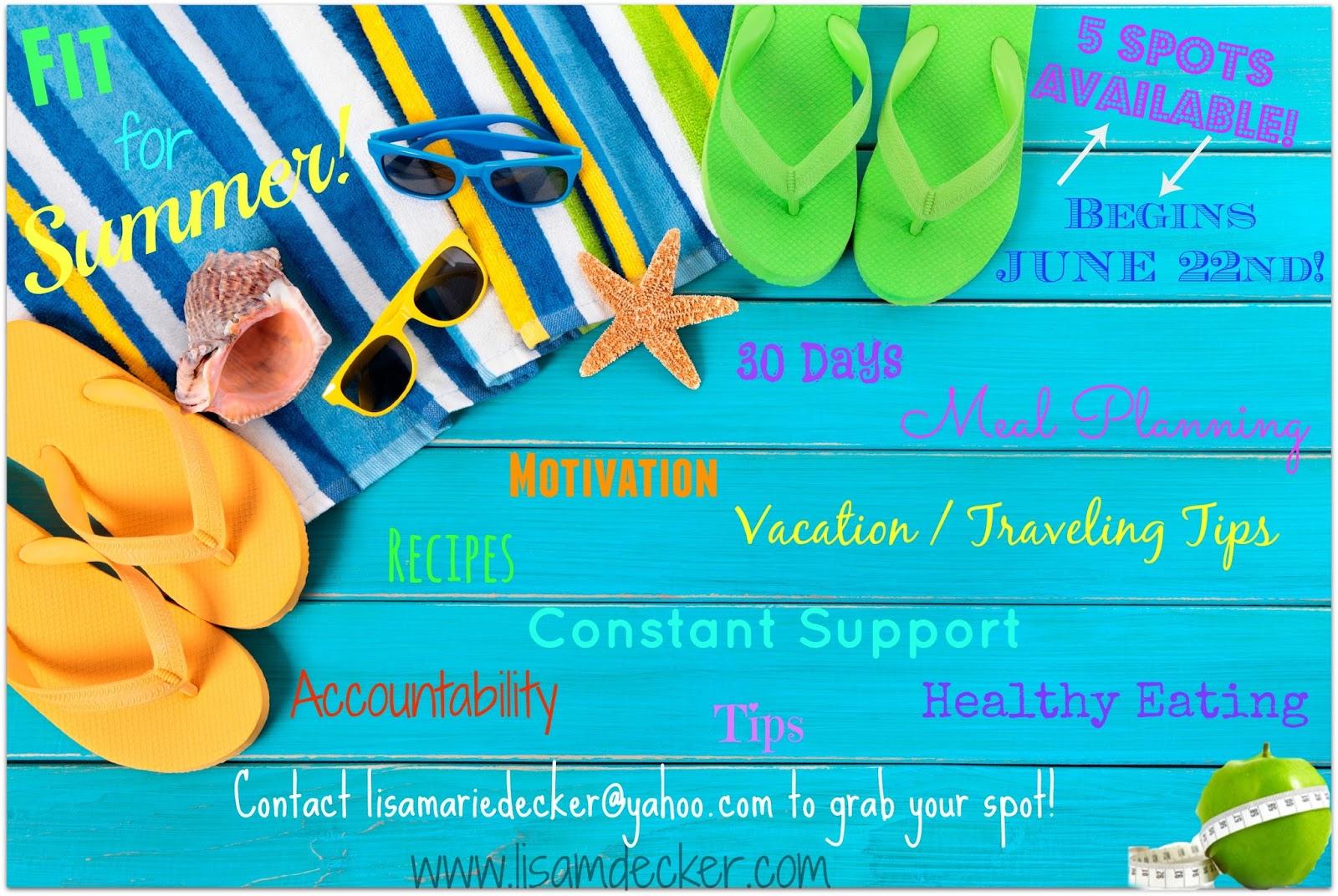 Get Healthy for Summer Challenge