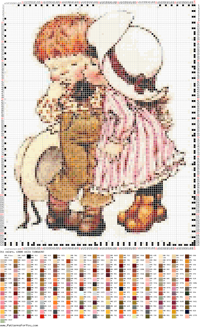 DIY Ponto Cruz - Cross Stitch Sara Kay 13