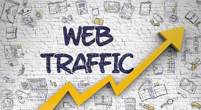 how to grow website traffic free increase site visits