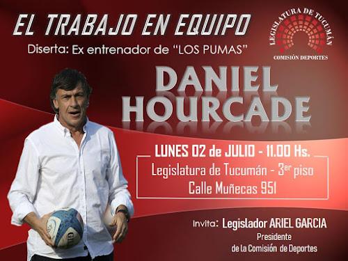 Daniel Hourcade: El trabajo en equipo
