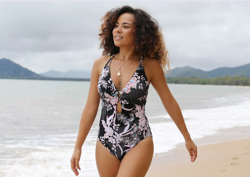 Sam Clark Clicked in Bikini for Seafolly and Baku Photoshoot in Cairns, Australia 03 Mar-2020