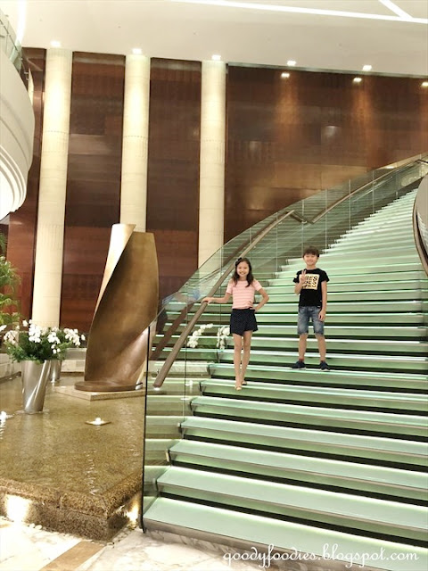 Grand Hyatt KL Grand Staircase