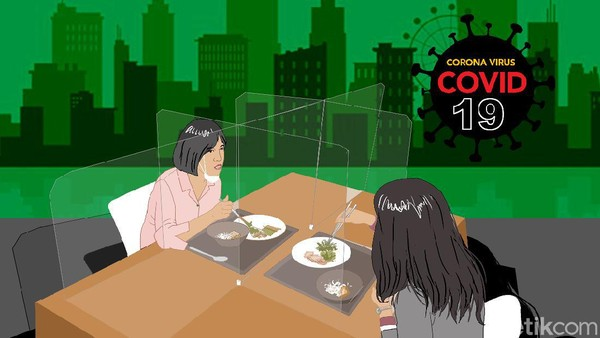PSBB Jakarta Mulai 14 September, Restoran-Kafe Dilarang Dine In