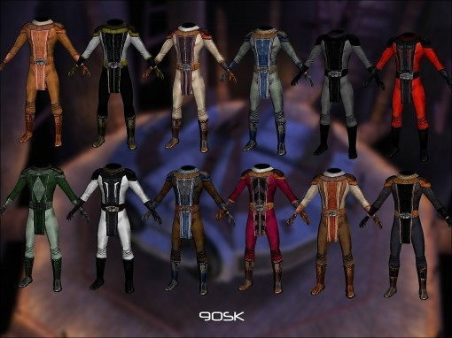 KOTOR: Now widescreen with new content and customizable robes!