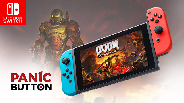 doom eternal nintendo switch release date december 8 first-person shooter game id software bethesda