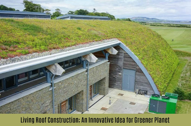 Living Roof Construction; An Innovative Idea for Greener Planet