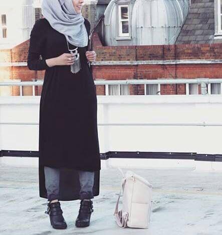 ملابس محجبات 2018 أحدث موضة ازياء بنات كاجول للمحجبات