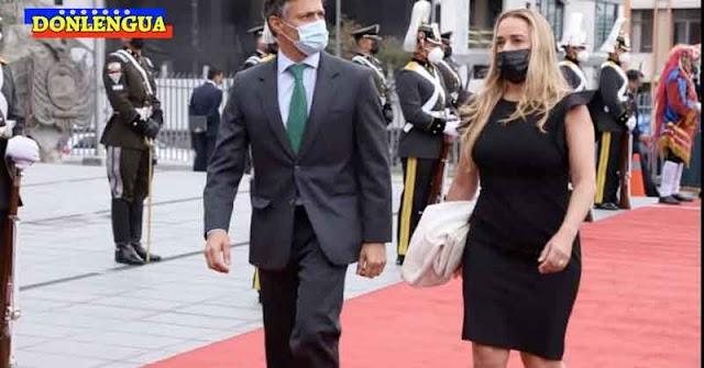 Envidiosos dicen que Lilian Tintori se ve bien gordita en Ecuador