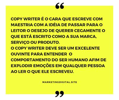 o que faz um copy writer?